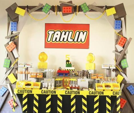 lego movie birthday party decorations