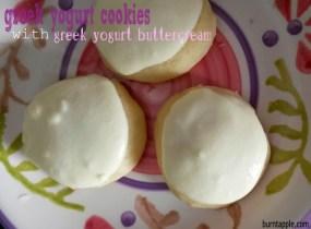 Greek Yogurt Cookies with Greek Yogurt Frosting