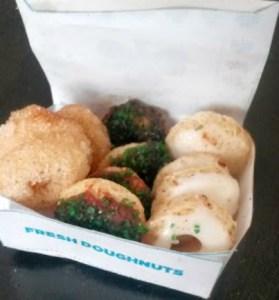 Healthy Leprechaun Donuts