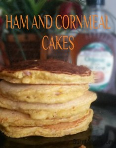Ham and Cornmeal Cakes