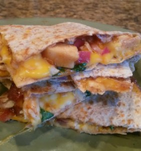 Barbeque Chicken Quesadillas