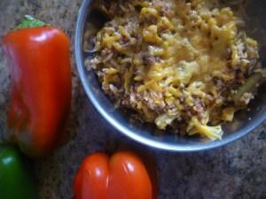 Spanish Rice and Quinoa Dinner