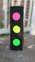 DIY Glow in the Dark Traffic Light