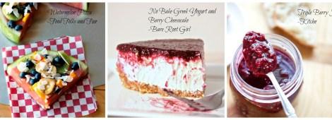 healthy berry desserts