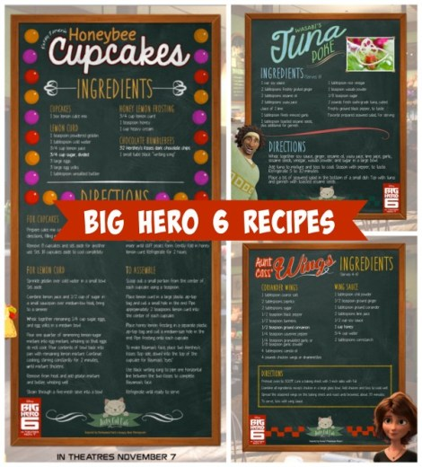big hero 6 food ideas