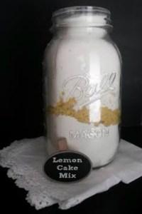 Lemon Cake Mix From Scratch
