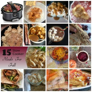 Slow Cooker Meals for Fall + Hamilton Beach Giveaway! *EVERYONE WINS*