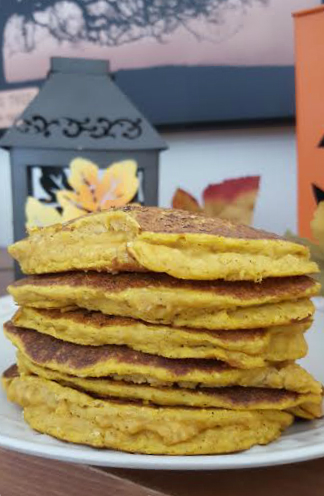 dog pumpkin pancakes