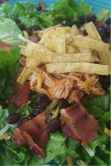 bbq chicken salad