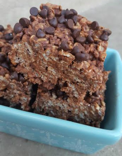 chocolate rice krispies