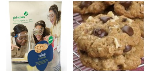 trios girl scout cookie
