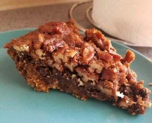 Gluten Free Chocolate Pecan Pie with Gluten Free Graham Cracker Crust