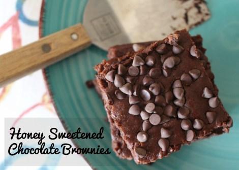 honey brownies