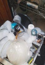 soap in dishwasher