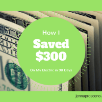 How I saved $300 on my electric bill in 90 days