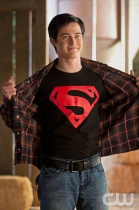 "Lucas Grabeel as Connor Kent in the Smallville episode ""Scion""."