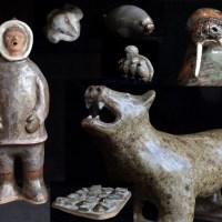 Makituk Pingwartuk - Inuit Ceramic Artist