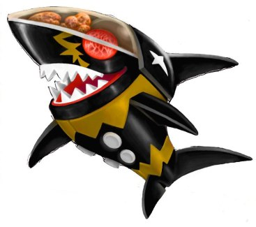 """Anything At All"" Music Video Art: Hakaider Shark"