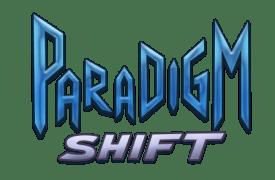 """Logo for Georgia Fall Game Jam 2012 Entry """"Paradigm Shift."""""""