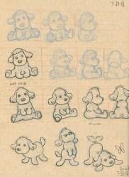 Dog Mascot Sketches