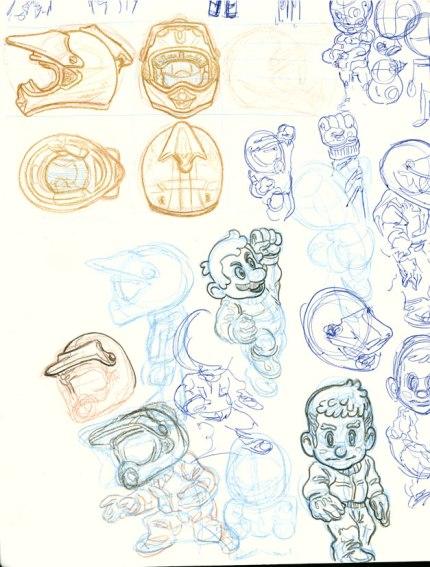ATV Character Sketches 2