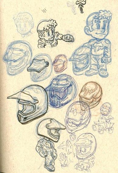 ATV Character Sketches