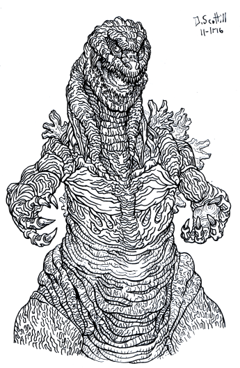 """As seen in my artbook """"Mark of the Monster."""" Available now! http://www.blurb.com/b/7893472-mark-of-the-monster"""