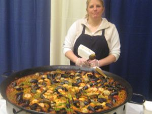 Giant Paella from Pies on Wheels