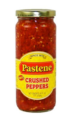 Pastene Crushed Peppers