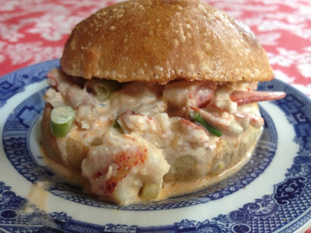Kewpie Lobster Roll