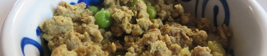 Ground Lamb Curry with Peas