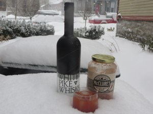 McClures White Pike Bloody Mary