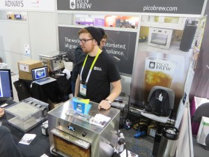 Picobrew gadget in its CES booth