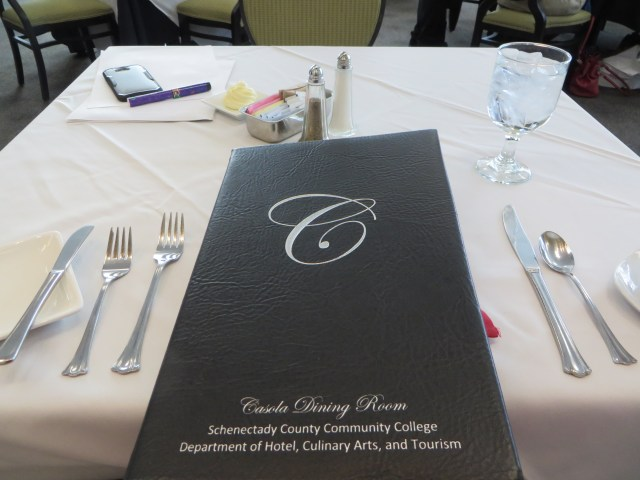 SCCC table setting