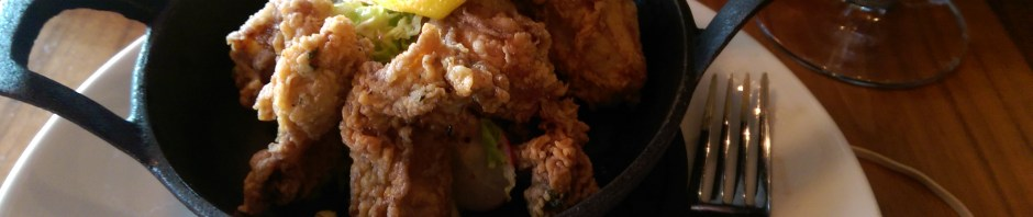 Fried Oysters at 15 Church