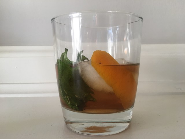 Sweet Smoke Cocktail