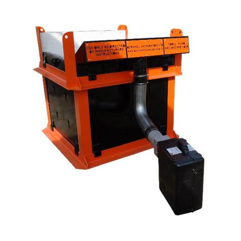 burnwell air curtain incinerators mobile and micro air fed incinerators