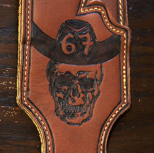 skull-cowboy-hat-leather-engraving-burnwizard-guitar-strap