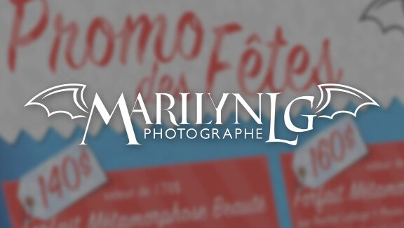 Promo des fêtes  – Marilyn LG