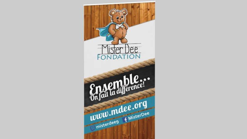 Déroulable – Fondation MisterDee