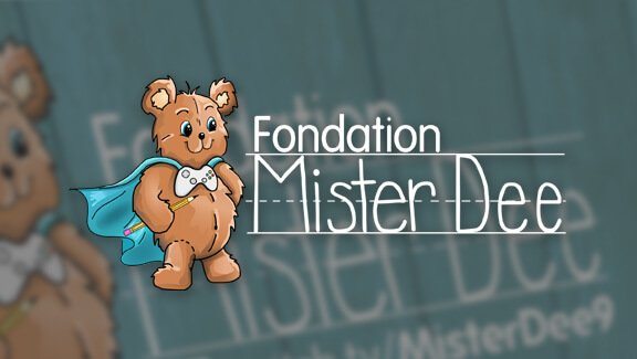 Carte d'affaire – Fondation MisterDee