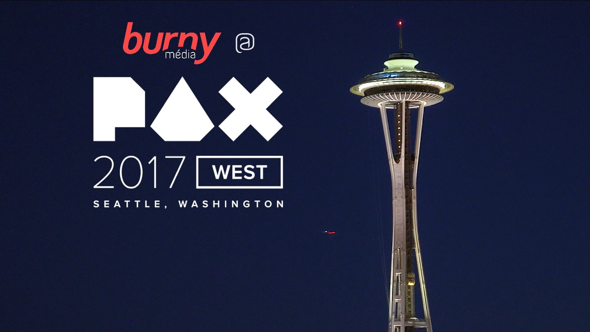 Burny média @ PAX West 2017