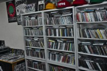 Dig Dig stacks its CD shelves like a student