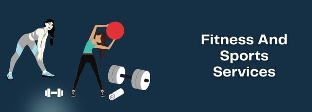 startup a fitness and sports services