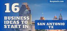business ideas in san antonio texas
