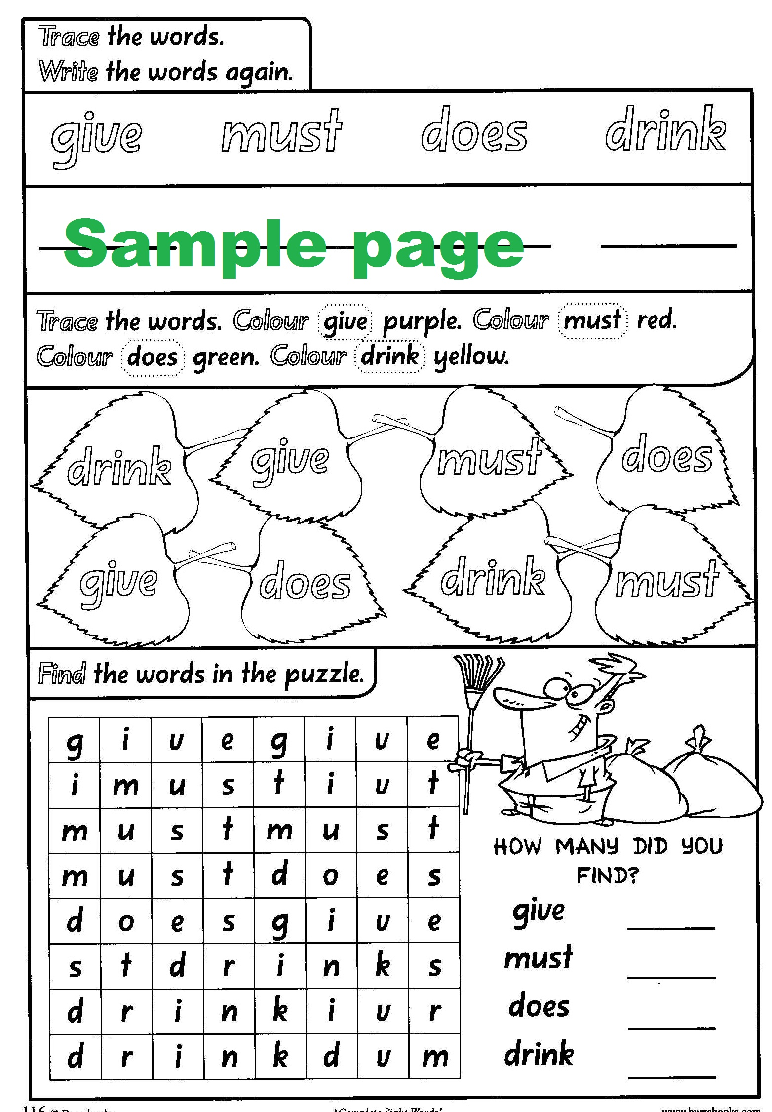 Complete Sight Words