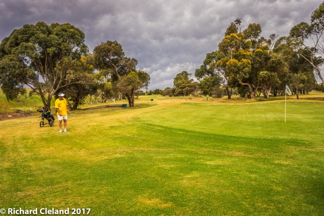 The 15 Hole & approaching storm