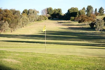 17th hole Burra Golf Club