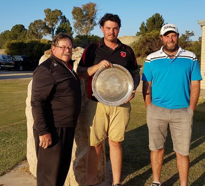 From left: Gus Wenzel, Tim Harvie, Chris Whittaker