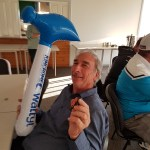 Bob Taylor with the Mars Bar